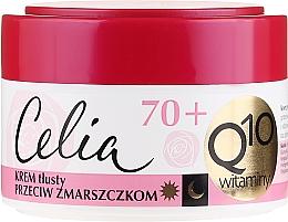 Perfumería y cosmética Crema facial con complejo vitamínico y coenzima Q10 - Celia Q10 Face Cream 70+