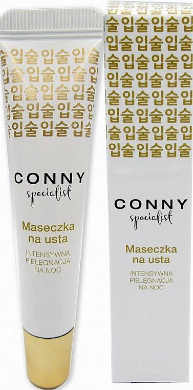 Mascarilla labial de noche con miel, aceite de macadamia, cera de abeja y vitamina E - Conny Specialist lip mask