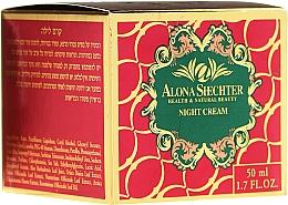 Perfumería y cosmética Crema facial con hierbas terapéuticas - Alona Shechter Night Cream
