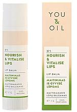 Perfumería y cosmética Bálsamo labial natural nutritivo - You & Oil Nourish & Vitalise Lip Balm