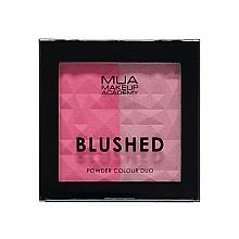 Perfumería y cosmética Colorete facial en polvo - MUA Blushed Powder Colour Duo