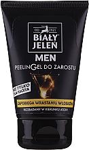 Perfumería y cosmética Gel peeling de barba con provitamina B5 - Bialy Jelen Men Peelin Gel