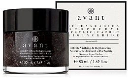 Perfumería y cosmética Exfoliante facial con polvo de café - Avant Infinite Vivifying & Replenishing Sustainable Arabica Coffee Scrub