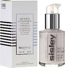 Perfumería y cosmética Emulsión facial ecológica antipolución con centella asiática, ginseng y romero - Sisley Emulsion Ecologique Ecological Compound