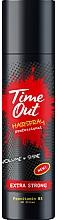 Perfumería y cosmética Laca para volumen y brillo de fijación extra fuerte - Time Out Hairspray Extra Strong Volume And Shine