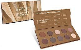 Perfumería y cosmética Paleta de sombras de cejas - Affect Cosmetics Color Brow Collection