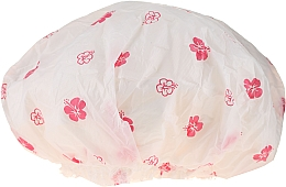 Perfumería y cosmética Gorro de ducha, 9298, flores blancas y rosas - Donegal Shower Cap