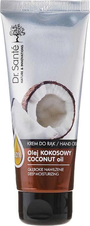 Crema de manos con aceite de coco - Dr. Sante Hand Cream Coconut Oil