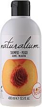 Perfumería y cosmética Champú hidratante para brillo y volumen con melocotón - Naturalium Shampoo And Conditioner Peach