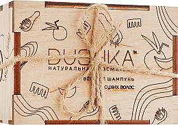 Perfumería y cosmética Champú sólido con aceites de coco y bergamota - Dushka