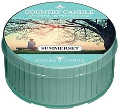 Perfumería y cosmética Vela de té con aroma a pera dulce y sándalo - Country Candle Summerset Daylight