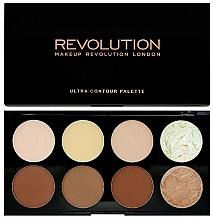 Perfumería y cosmética Paleta para contorno facial - Makeup Revolution Ultra Contour Palette