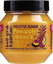 Perfumería y cosmética Exfoliante corporal con extracto de piña - MonoLove Bio Pineapple-Jamaica Tonus & Smoothness Scrub
