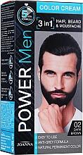 Perfumería y cosmética Crema colorante 3 en 1 - Joanna Power Man Color