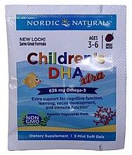Perfumería y cosmética Complemento alimenticio de Omega-3 para niños, 636mg - Nordic Naturals Children's DHA Xtra