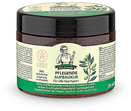 Mascarilla para cabello con oliva & uva - Las recetas de la abuela Gertruda Hair Mask