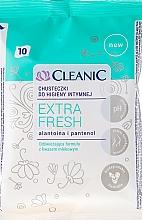 Perfumería y cosmética Toallitas de higiene íntima con alantoína y pantenol - Cleanic Intensive Care Wipes