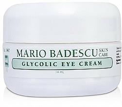Perfumería y cosmética Crema contorno de ojos con ácido glicólico - Mario Badescu Glycolic Eye Cream