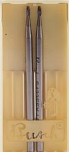 Perfumería y cosmética Fresa de metal, 45-517, L4,4cm, D0,2cm, 2uds. - Alessandro International Frez
