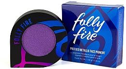 Perfumería y cosmética Pigmentos prensados con efecto metálico - Folly Fire Drop The Shade