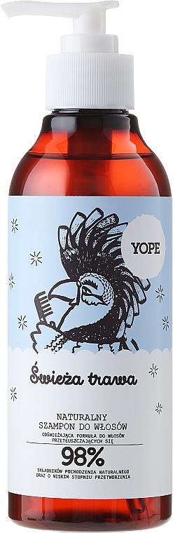 Champú para cabello graso con ingredientes de origen natural - Yope