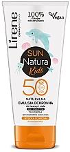 Perfumería y cosmética Emulsión infantil de protección solar, resistente al agua, SPF 50+ - Lirene Sun Natura Kids Protective Emulsion SPF50+