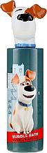 Perfumería y cosmética Espuma de baño infantil hipoalergénica con aroma a chicle - The Secret Life Of Pets Max Bubble Bath