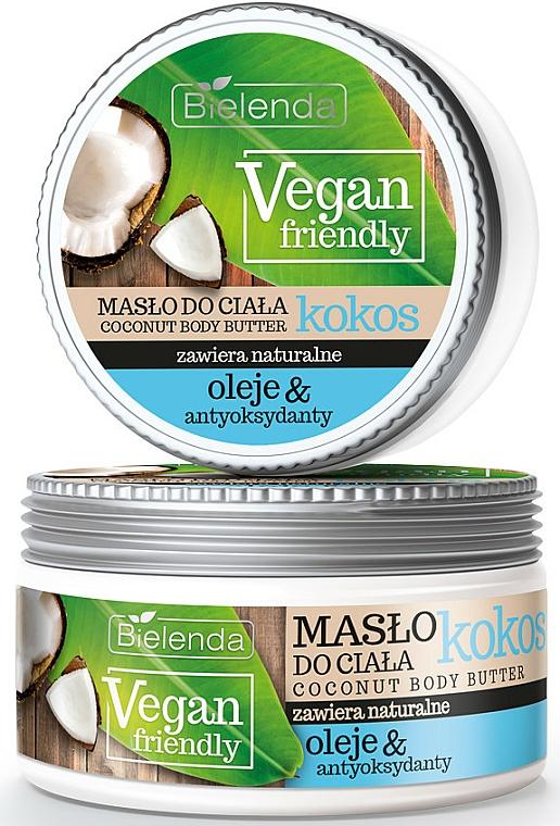 Manteca corporal vegana de con aceite de coco - Bielenda Vegan Friendly Coconut Body Butter