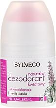 Perfumería y cosmética Desodorante natural hipoalergénico con aroma floral - Sylveco