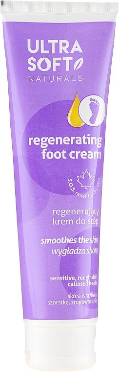 Crema regeneradora de pies con extracto de algodón - Ultra Soft Naturals Regenerating Foot Cream Smoothes