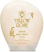 Perfumería y cosmética Crema corporal con proteínas de jengibre y seda - Yellow Rose Ginger Body Cream