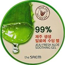 Perfumería y cosmética Gel calmante para rostro y cuerpo con 99% aloe vera - The Saem Jeju Fresh Aloe Soothing Gel 99%