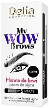 Perfumería y cosmética Henna para cejas - Delia My Wow Brows