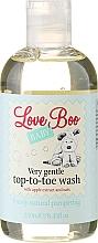 Perfumería y cosmética Gel de ducha y champú hipoalergénico con extracto de manana y avena - Love Boo Baby Very Gentle Top-To-Toe Wash