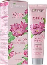 Perfumería y cosmética Crema depilatoria con extracto de loto, pieles secas y sensibles - Bielenda Vanity Soft Touch Lotos