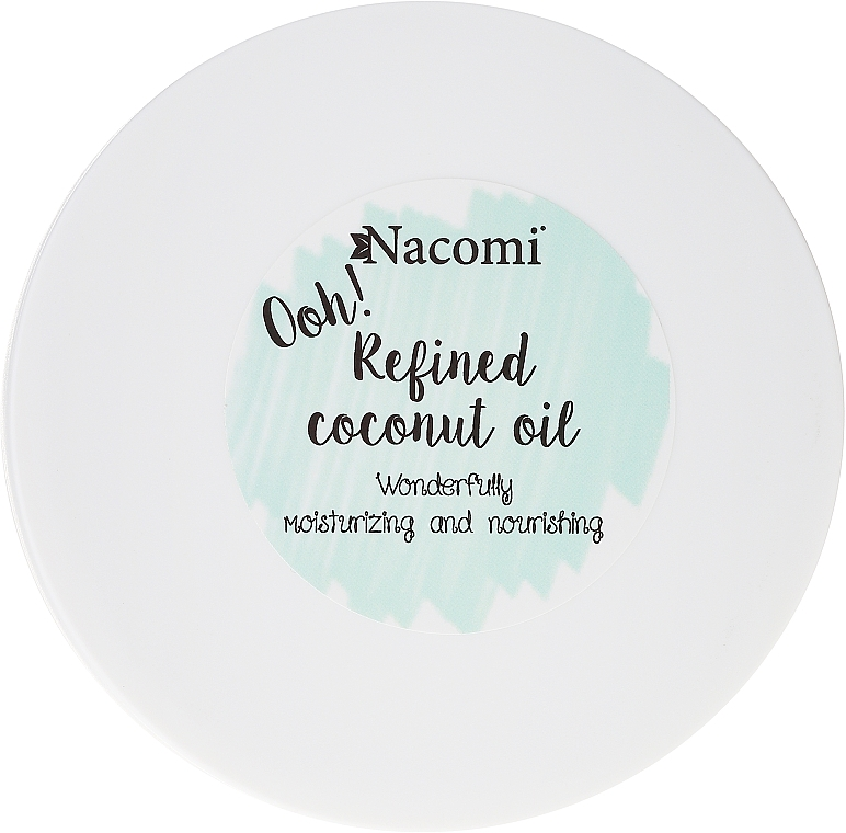 Manteca de coco refinada 100% natural - Nacomi Coconut Oil 100% Natural Refined — imagen N2