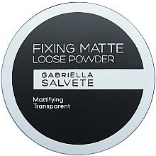 Perfumería y cosmética Polvo suelto, acabado mate - Gabriella Salvete Fixing Matte Loose Transparent Powder