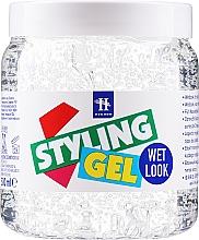 Perfumería y cosmética Gel para cabello con efecto de rizos húmedos - Hegron Styling Gel Wet Look
