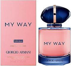 Perfumería y cosmética Giorgio Armani My Way Intense - Eau de parfum, frasco recargable