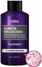 """Perfumería y cosmética Acondicionador revitalizador """"flor de cerezo"""" - Kundal Honey & Macadamia Treatment Cherry Blossom"""