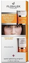 Perfumería y cosmética Crema facial antimanchas con extracto de amla - Floslek White & Beauty Intense Spots And Freckles Lightening Cream