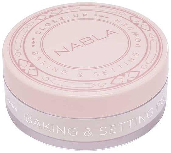 Polvo fijador de maquillaje cocido - Nabla Close-Up Baking Setting Powder