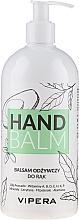 Perfumería y cosmética Bálsamo de manos nutritivo con aceite de aguacate y vitaminas - Vipera Nourishing Hand Balm