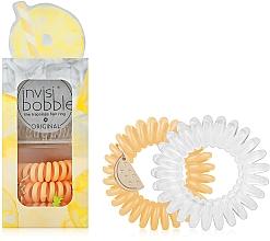 Perfumería y cosmética Set coleteros espirales, 6uds. - Invisibobble Original Happy Hour Just Pine