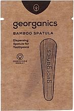 Perfumería y cosmética Espátula de bambú aplicadora de pasta dental - Georganics