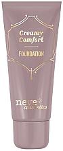 Perfumería y cosmética Base de maquillaje cremosa e hidratante con ácido hialurónico y aceite de jojoba - Neve Cosmetics Creamy Comfort