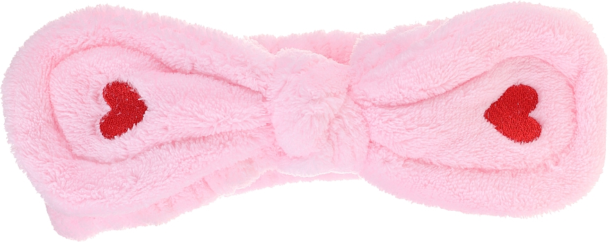 Cinta de pelo cosmética, rosa - Lash Brow Cosmetic SPA Band
