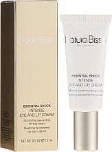 Perfumería y cosmética Tratamiento para contorno de ojos y labios reafirmante, SPF15 - Natura Bisse Essential Shock Intense Eye and Lip Treatment SPF15