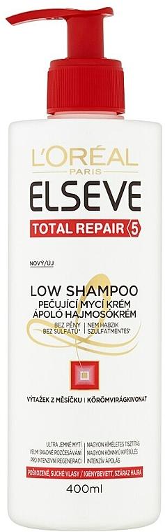 Champú reparador sin sulfatos ni parabenos - L'Oreal Paris Elseve Low Shampoo — imagen N1