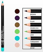 Lápiz de ojos intenso suave de larga duración - Affect Cosmetics Intense Colour Eye Pencil — imagen N2